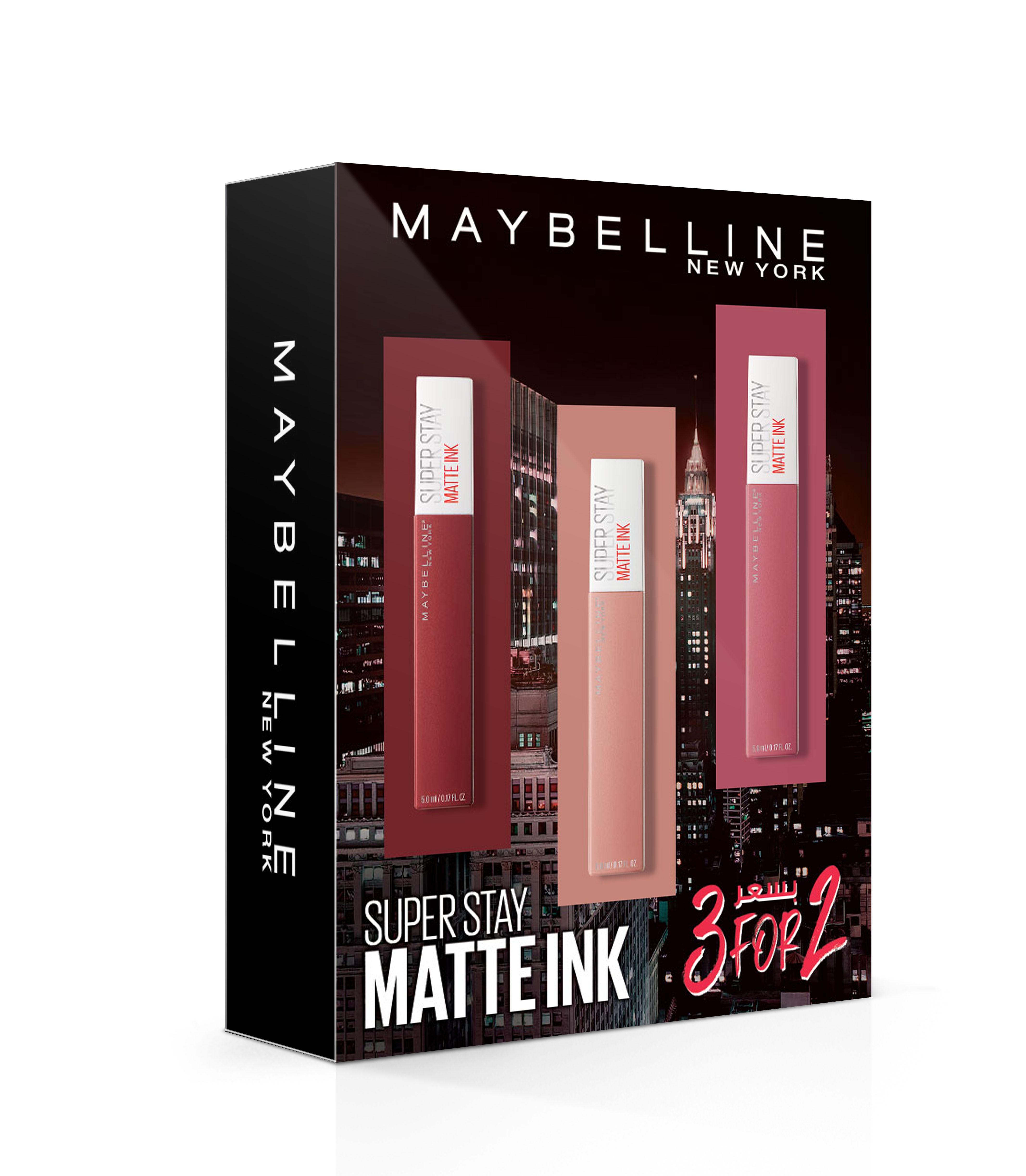 Maybelline 3 For 2 Superstay Matte Ink