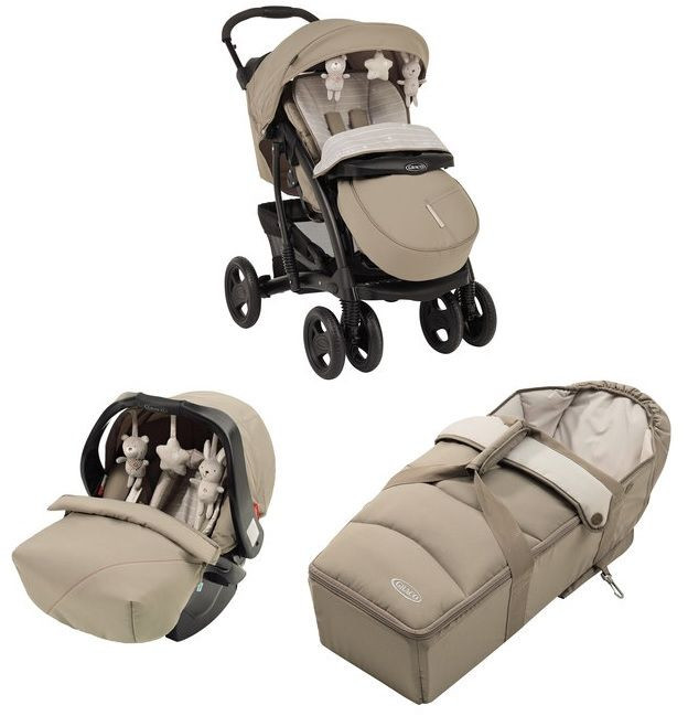 Graco Quattro Tour Deluxe Travel System Bear And Friends