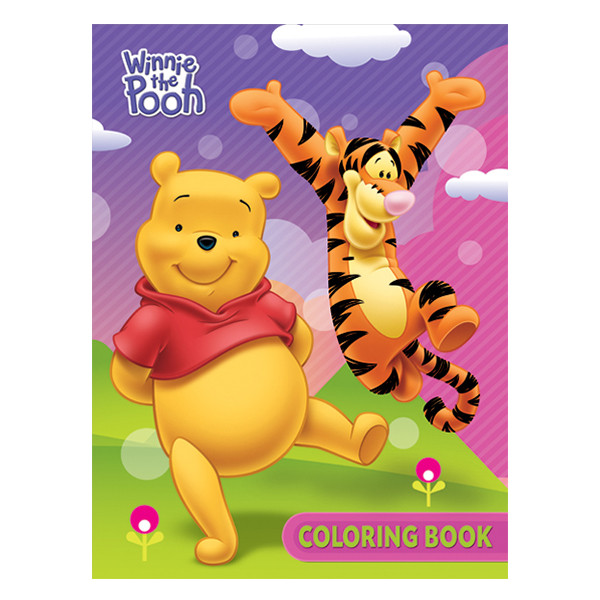 1st Kid - Winnie the Pooh Coloring Book Mod38