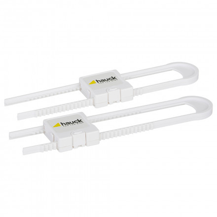 Door & Window Guards Hauck Close Me 3 Child Baby Safety Cupboard Strap Lock Universal Door Latch 10 cm Long Baby Products Pack of 2