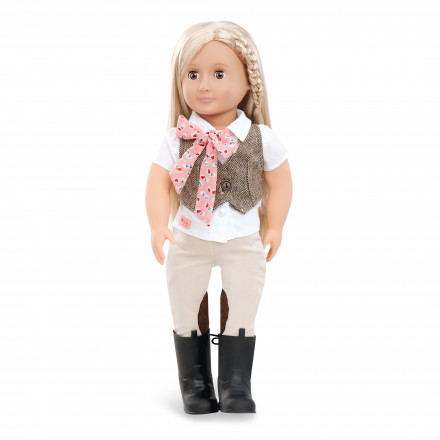 18/'/' Anya PERFECT GIFT GIRLS  TOY CHEAP BRAND NEW Our Generation® Jewelry Doll