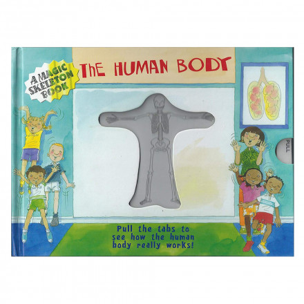 mry a magic skeleton book human body