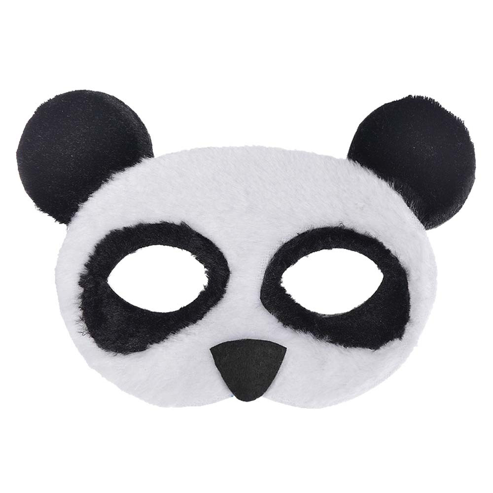 Party Centre - Panda Furry Child Mask