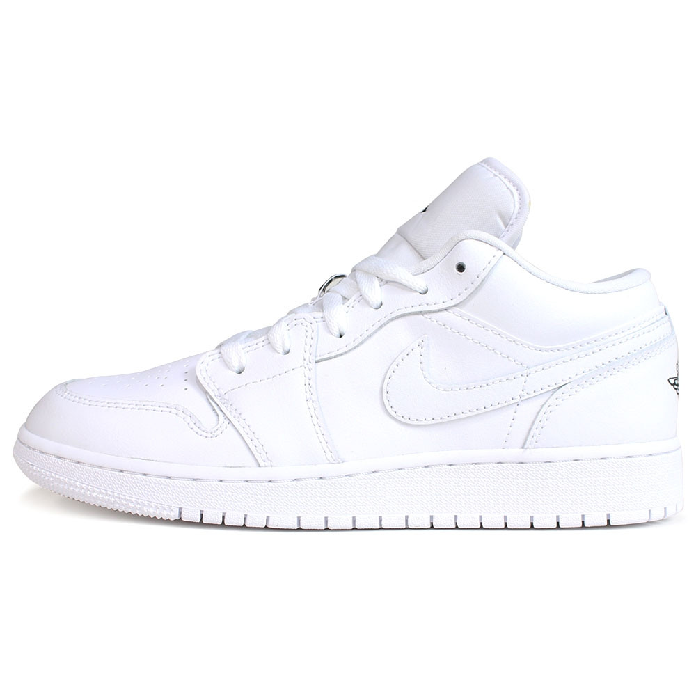 on sale 64439 8253a NIKE - Air Jordan 1 Low - White