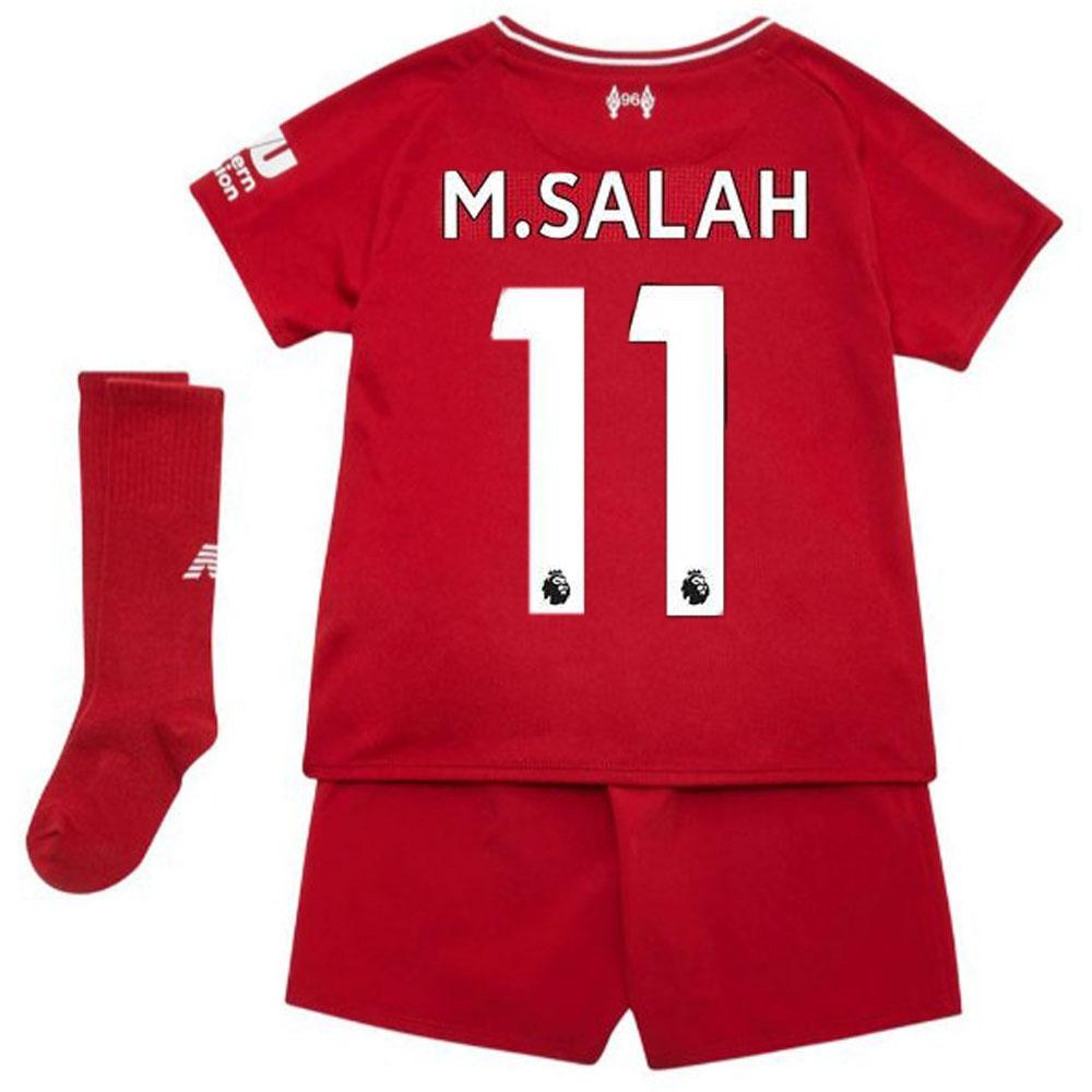 on sale 6d65f ca531 Liverpool Home Kit - Mo Salah