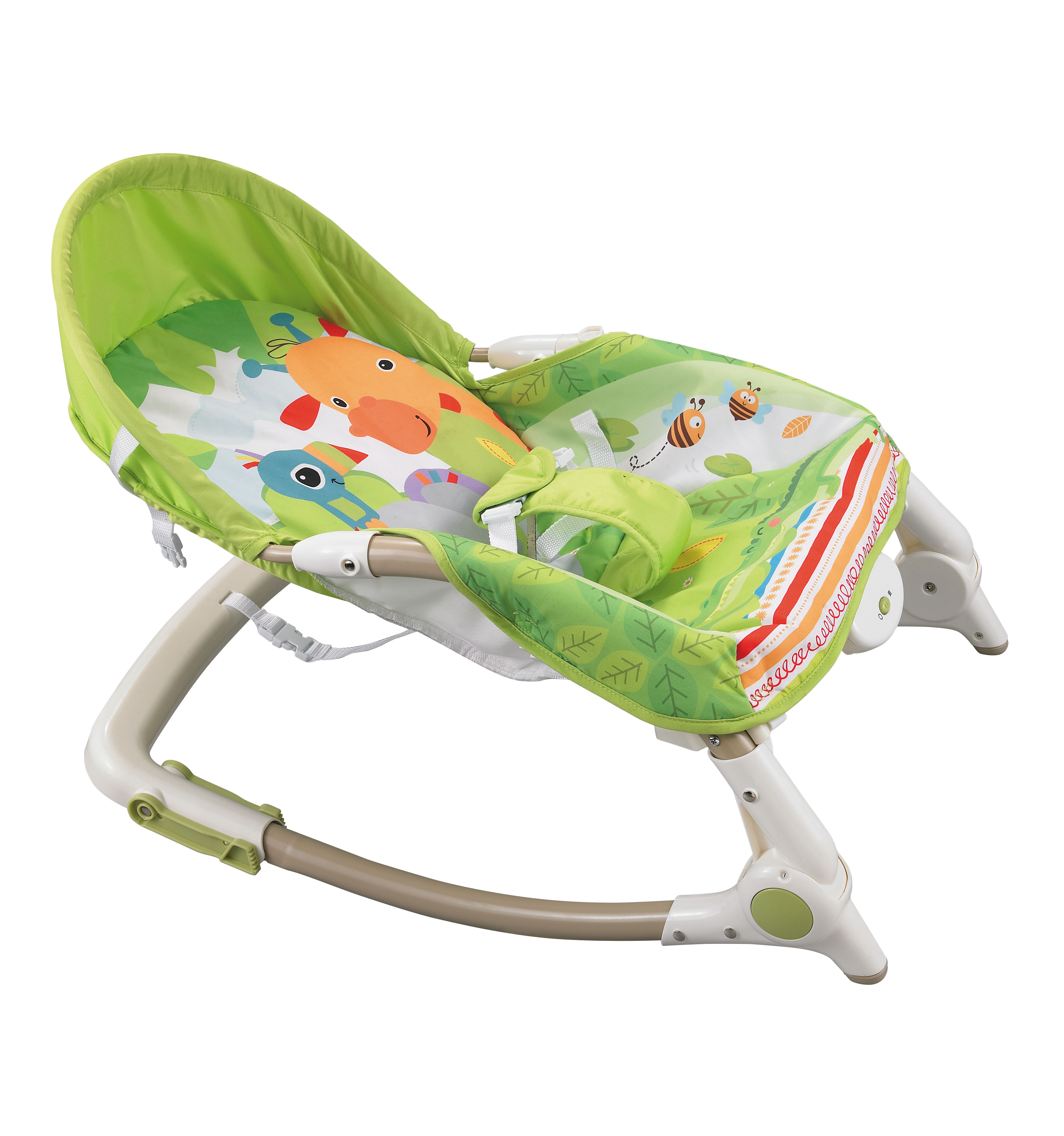 Konig Kids Newborn To Toddler Rocker Green