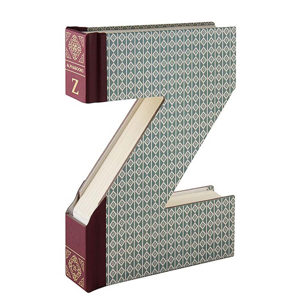 كتاب مزخرف بأشكال أحرف أبجدية ألفابوك Z من ماركة ذات كومباني كولد إف