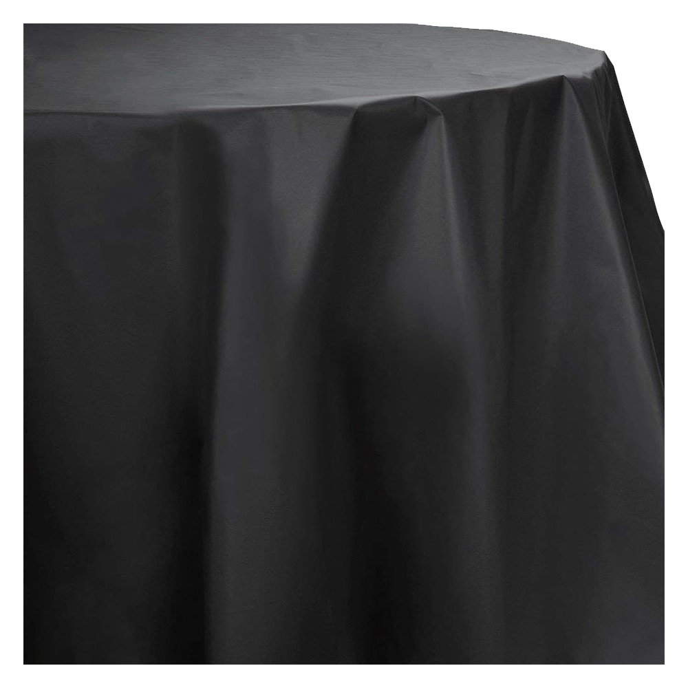 225 & Amscan - Plastic Round Table Cover 84\