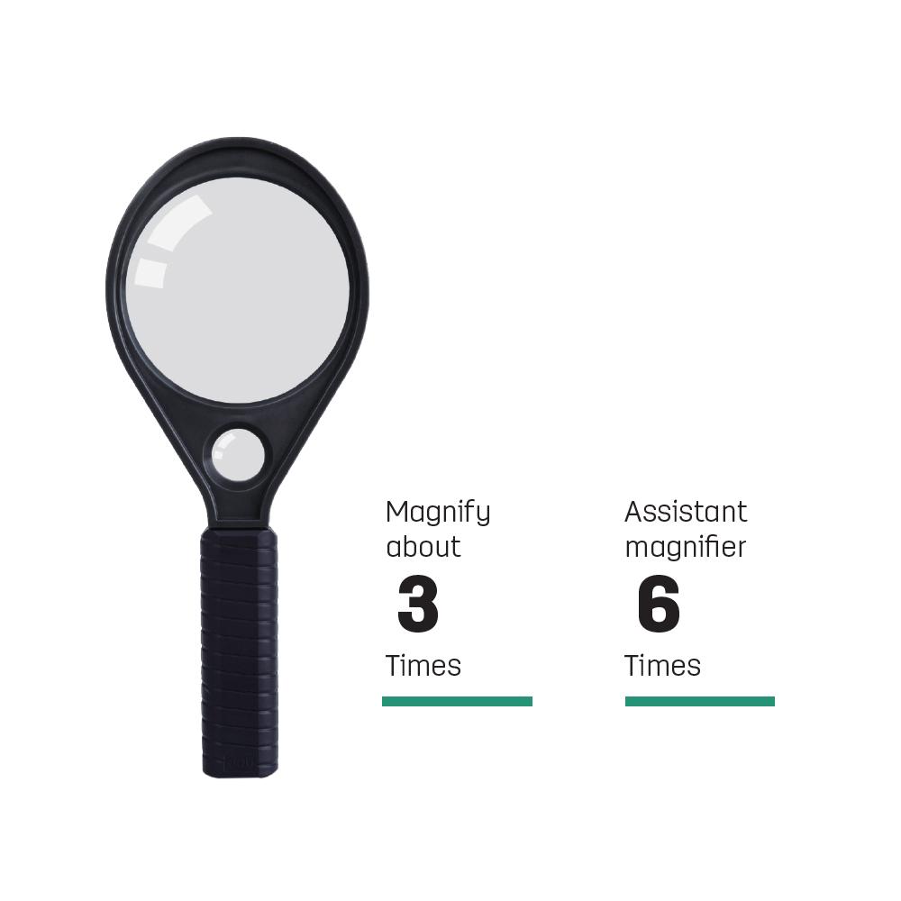 Deli - Magnifier 50mm Effect 2 5 Times