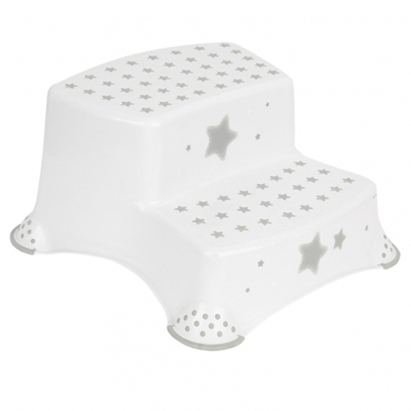 Super Keeeper Anti Slip Double Step Stool Function Stars White Pabps2019 Chair Design Images Pabps2019Com