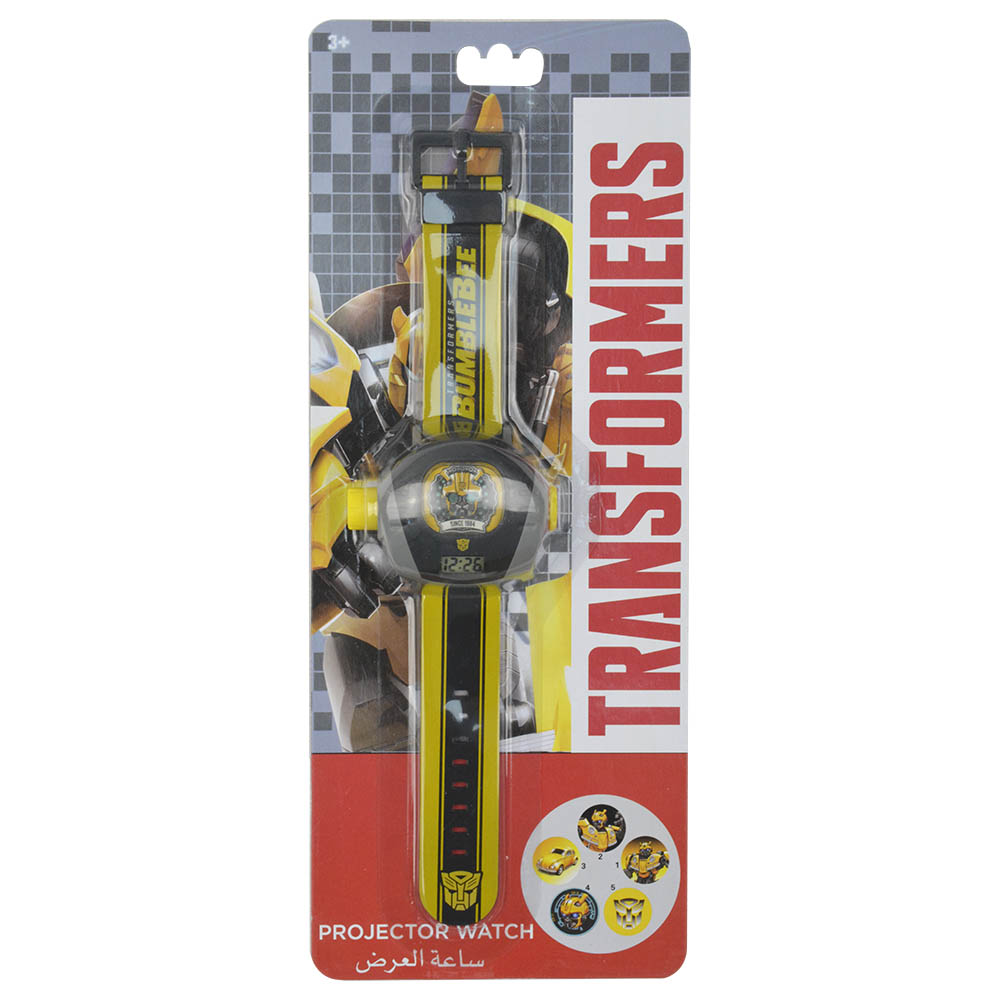 Hasbro transformers projector watch w 5 images projections - Images of bumblebee from transformers ...